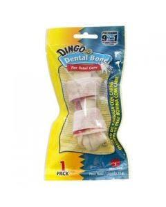 Petisco Mini Dingo Dental Bones pequeno 35g