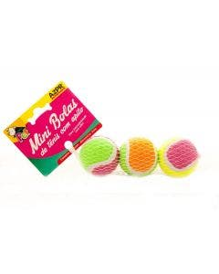 Brinquedo Azpr Mini Bola de Tênis com Apito