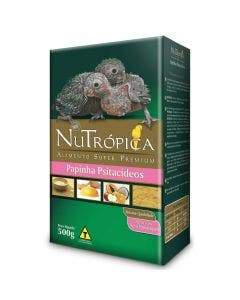 Alimento Super Premium Nutrópica Papinha Psitacídeos 500g