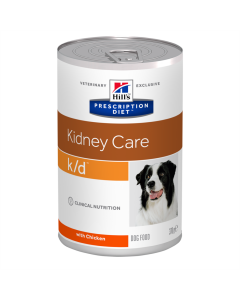 Alimento Úmido Hills Prescription Diet K/D Cães Adultos 370g