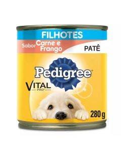 Alimento Úmido Pedigree Patê Cães Filhotes Carne e Frango 290g