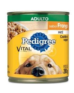 Alimento Úmido Pedigree Patê Cães Adultos Frango 280g