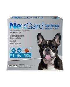 Antipulgas Nexgard Cães de 4 à 10Kg 1 Tablete