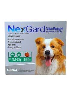 Antipulgas Nexgard Cães de 10 à 25Kg 1 Tablete