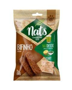 Bifinho Nats NatDetox Couve, Abacaxi e Clorofila Cães 60g