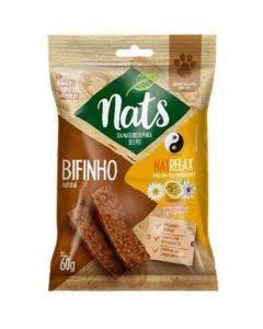 Bifinho Nats NatRelax Camomila, Maracujá e Passiflora Cães  60g
