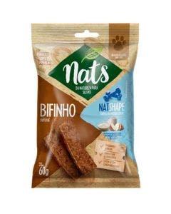 Bifinho Nats NatShape Whey, Batata Doce e Tapioca Cães  60g