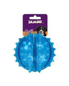 Brinquedo Bola Jambo Cães Bola de Espinho Cores Sortidas P