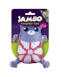 Brinquedo Jambo Gatos Graphics Cat Cute