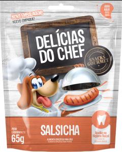 Snack Petitos Delícias do Chef Sabor Salsicha 65g
