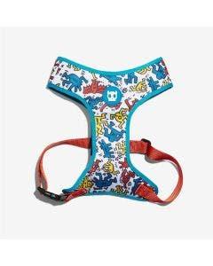 Peitoral Mash Plus H Zee.Dog Keith Haring Pop Gang Cães P