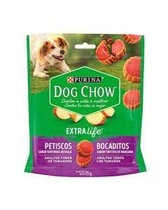 Petisco Dog Chow Extra Life Tortinhas de Maça 75g