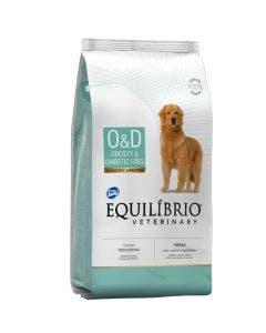 Ração Equilíbrio Veterinary Cães Obesity eamp Diabetic 2,0 Kg