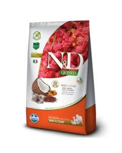 Ração N&D Quinoa Skin e Coat Cães Adultos Peixe 800 g