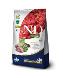 Ração N&D Quinoa Digestion Cães Adultos Cordeiro  2,5 Kg