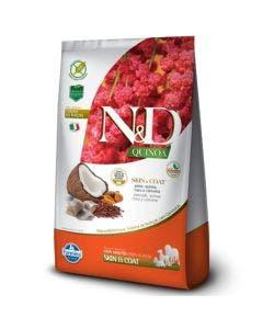 Ração N&D Quinoa Skin e Coat Gatos Adultos Peixe 7,5 Kg