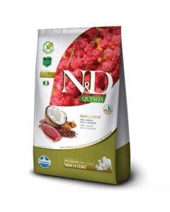 Ração N&D Quinoa Skin e Coat Cães Adultos Pato 2,5 Kg