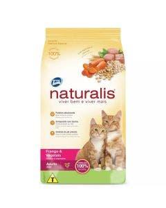 Ração Naturalis Gatos Adultos Frango e Vegetais 1 Kg