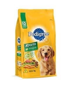 Ração Pedigree Cães Adultos Carne e Vegetais 3,0 Kg