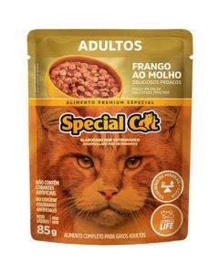 Alimento Úmido Special Cat Gatos Adultos Frango ao Molho 85g