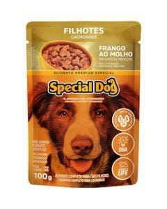 Alimento Úmido Special Dog Cães Filhotes Frango ao Molho 100g