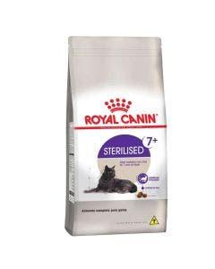 Ração Royal Canin Gatos Adultos Sterilised 7+ 400 g