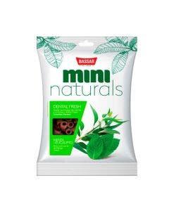 Petisco Mini Naturals Dental Fresh Bassar Menta e Eucalipto 60 g