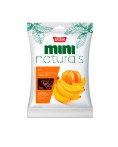 Petisco Mini Naturals Fit Bassar Banana e Abóbora 60 g
