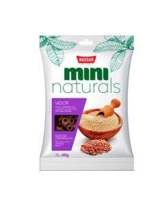 Petisco Mini Naturals Vigor Bassar Quinoa e Amaranto 300 g