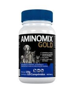 Suplemento Aminomix Gold 120 Comprimidos