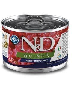 Alimento Úmido N&D Quinoa Weight Management Cães Adultos 140g