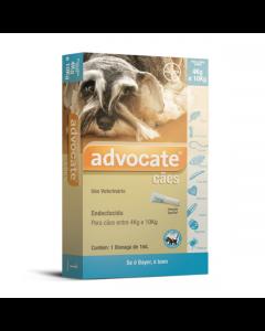 Antipulgas Advocate Cães Entre 4 e 10Kg Bayer