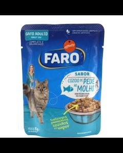 Alimento Úmido Faro Gatos Adultos Peixe 85g