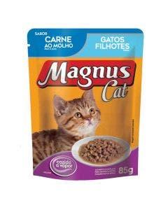Alimento Úmido Magnus Gato Filhote Carne 85g