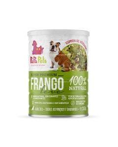 Alimento Úmido PapaPets Premium Frango Cães Adultos Castrados 280g
