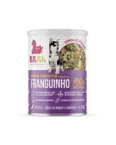 Alimento Úmido PapaPets Premium Franguinho Cães Filhotes 280g
