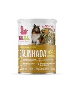 Alimento Úmido PapaPets Premium Galinhada Cães Adultos 280g