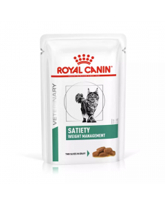 Alimento Úmido Sachê Royal Canin Satiety Weight Management 85g