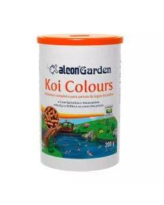 Alimento para Peixes Alcon Koi Colours Garden 200g