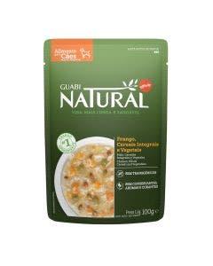 Alimento Úmido Guabi Natural Cães Frango, Cereais e Vegetais 100g