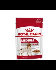 Alimento Úmido Royal Canin Cães Adultos Medium 140g