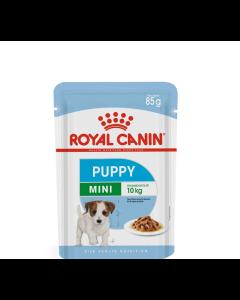Alimento Úmido Sachê Royal Canin Cães Filhotes Raças Pequenas 85g