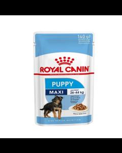Alimento Úmido Royal Canin Cães Filhotes Maxi 140g