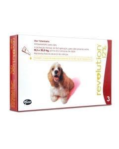 Antipulgas Revolution Cães 10 à 20Kg - Combo com 3 Pipetas