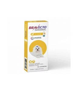 Antipulgas Bravecto Transdermal 0,4 ml Cães 2 à 4,5 Kg