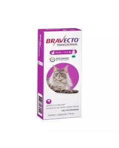 Antipulgas Bravecto Transdermal 1,79 ml Gatos 6,25 à 12,5 Kg