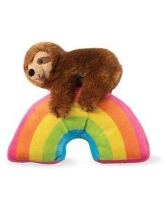 Brinquedo Pelúcia Aupet Arco-íris Preguiça