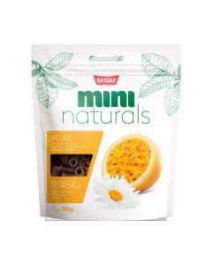 Petisco Mini Naturals Relax Bassar Maracujá e Camomila 300g