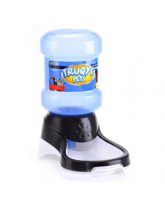 Bebedouro Automático Truqys Galão para Cães e Gatos Preto 2 Litros
