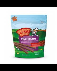 Petisco Peppy Dog Palito Carne com Batata Doce 500g